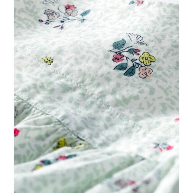 Baby Girls' Short-Sleeved Print Dress