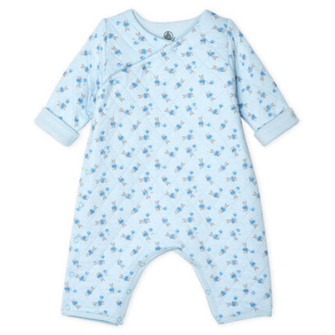 Long Sleepsuit Blue Bunny