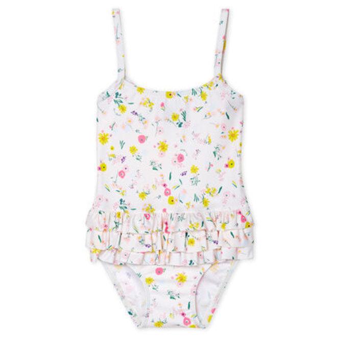 Baby girl's eco-friendly swimsuit