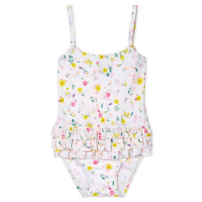 Baby girl's eco-friendly swimsuit