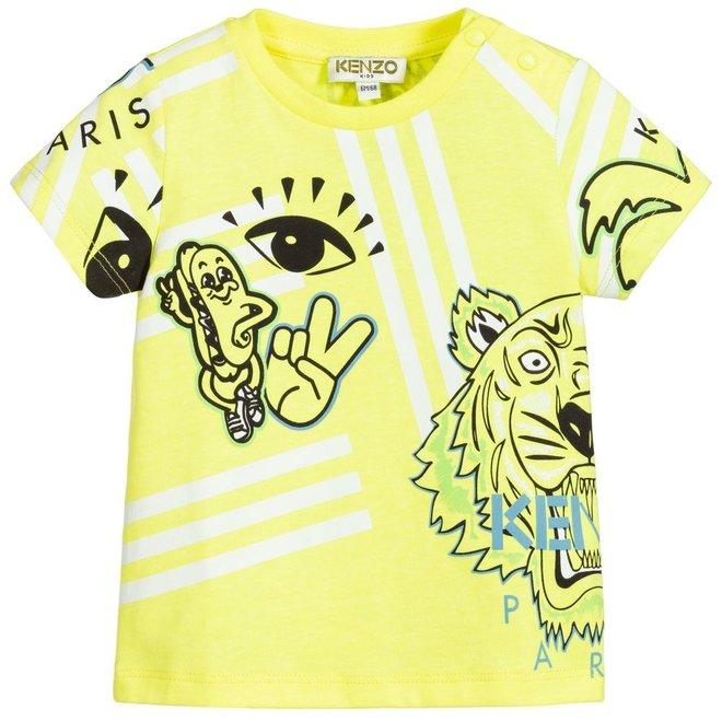 KENZO JOHNNY Multi Icon T-shirt - Cali Party