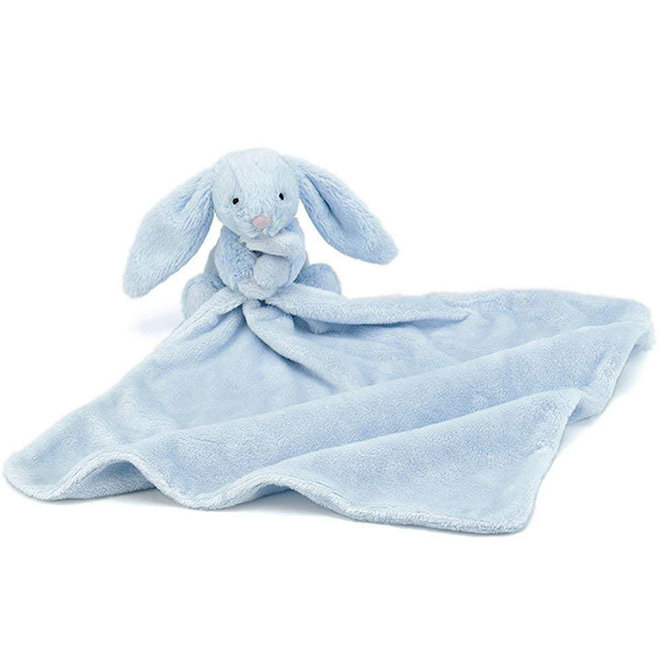 Bashful Light Blue Bunny Soother