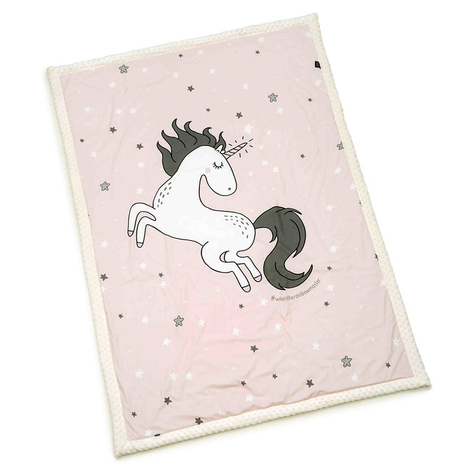 ADULT BLANKET 140 x 200 cm - ONE UNICORN SUGAR BEBE