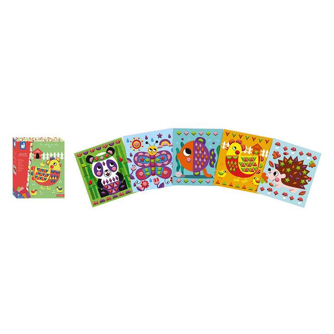 Hachette - 3D Stickers