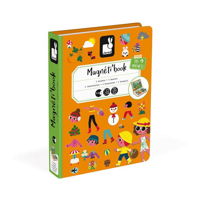 Janod Magnetibook 4 Seasons