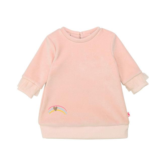 Girls Rainbow Pink Dress
