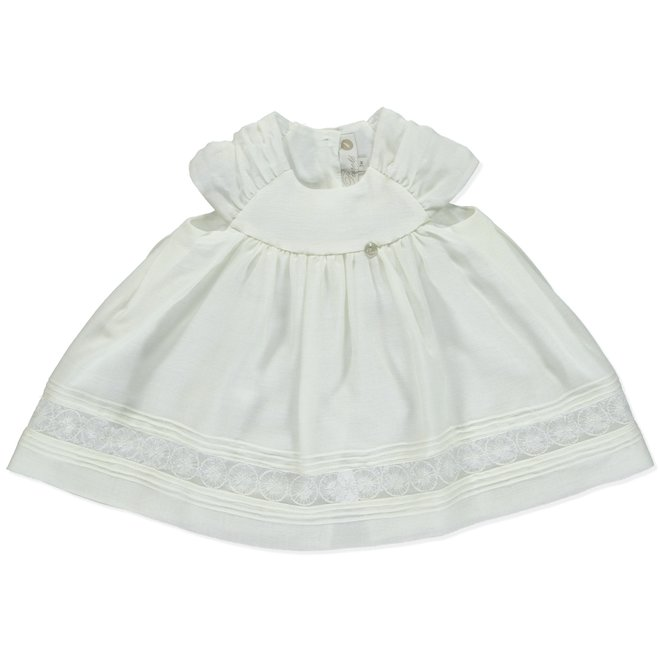 Dress Bapteme Pureté Du Bébé White
