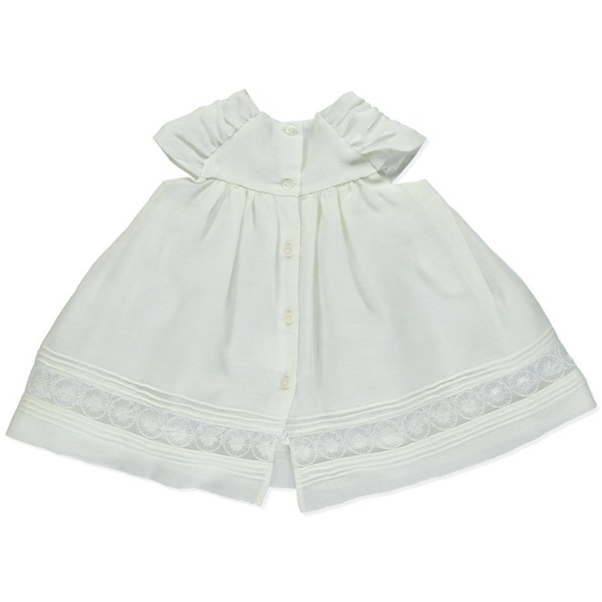 Dress Bapteme Pureté Du Bébé White