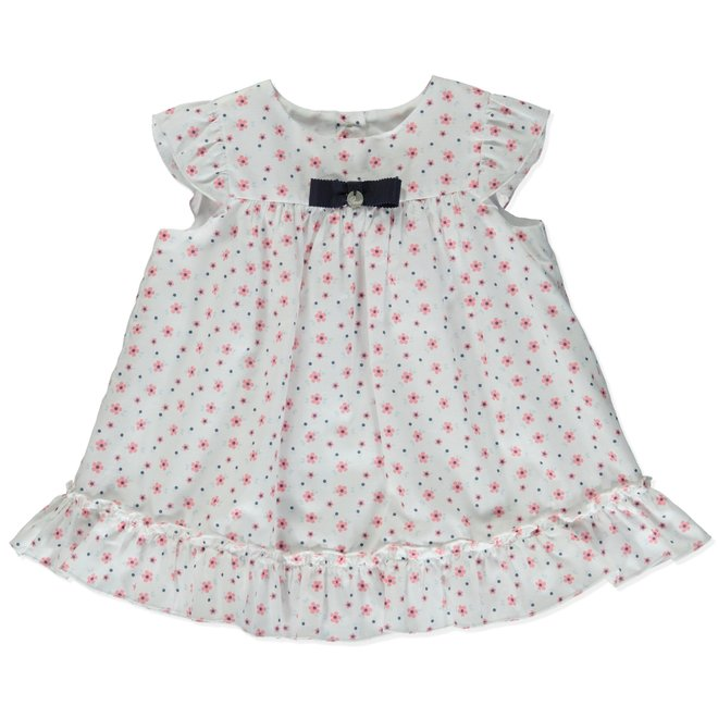 Dress Little Crulse Pureté Du Bébr Pink Flower