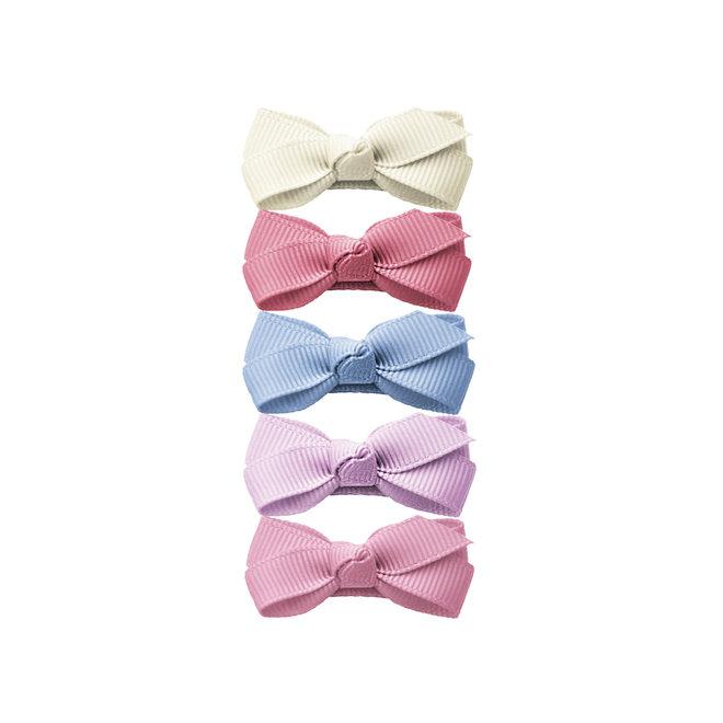 BabyWisp-Small Snap Chelsea Boutique Bows5pk RoyalFamily
