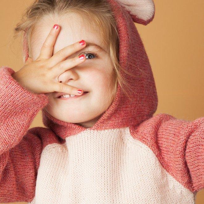 Nailmatic- Water-based nail polish for kids- Sissi – Pink Glitter