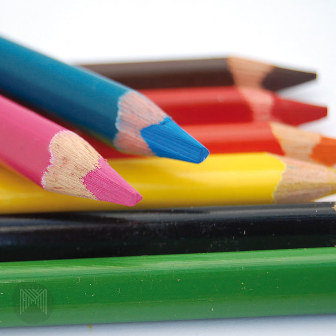 ColouRush Jumbo Pencil FSC 100%, 10pk