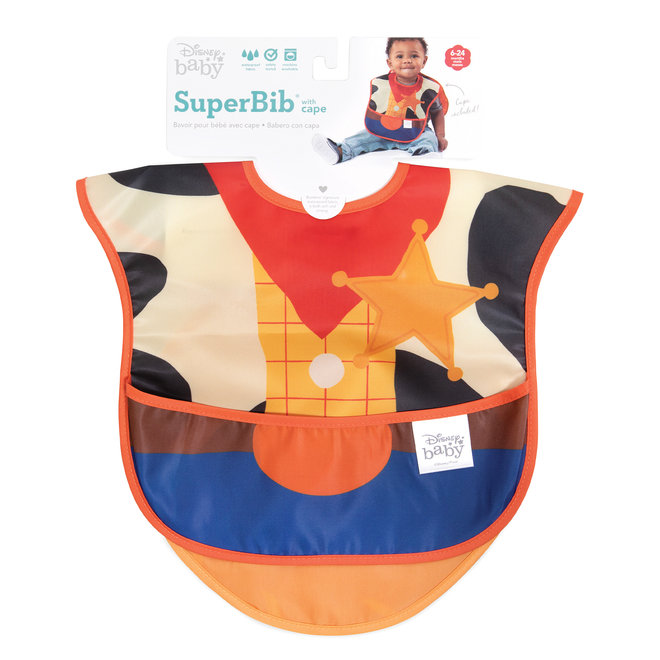 Caped SuperBib - Toy Story -Woody Costume