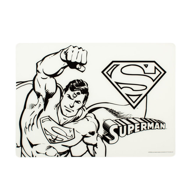 Bumkins DC Silicone Colouring Mat - Superman