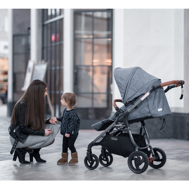 Valco Baby Strollers - Snap Ultra Trend Grey Marle