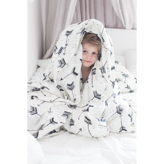 BAMBOO BEDDING KING SIZE - I'M A RAINBOW BABY