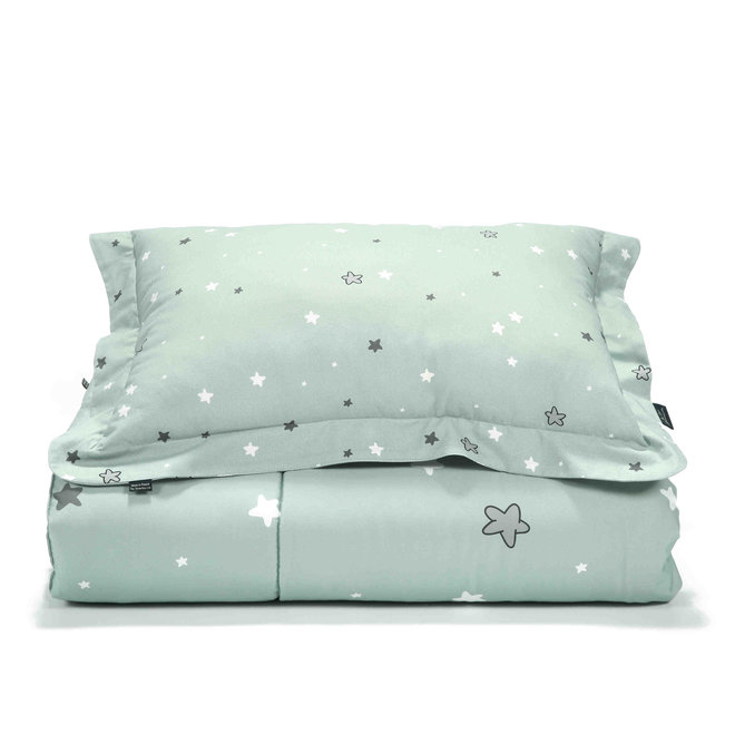 """BEDDING SET WITH FILLING ADULT """"XL"""" - ONE UNICORN RAINBOW KNIGHT - UNICORN RAINBOW KNIGHT STAR"""