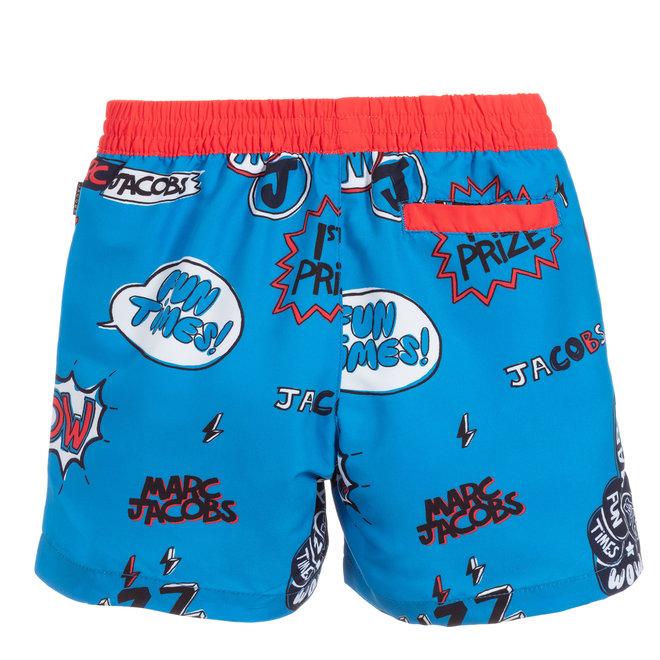 LMJ Comic Print Swim Shorts