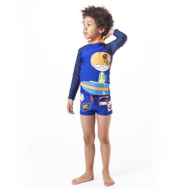 Little Marc Jacobs T-SHIRT ELECTRIC BLUE