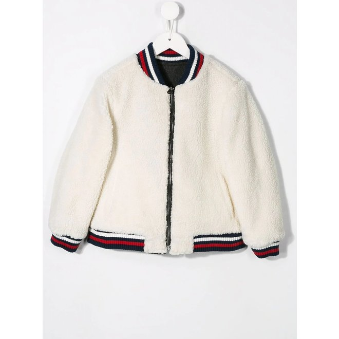 CIRCUS STORY D3 REVERSIBLE JACKET OFF WHITE GREY