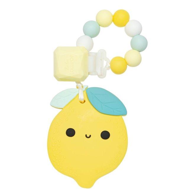Lemon Silicone Teether Set