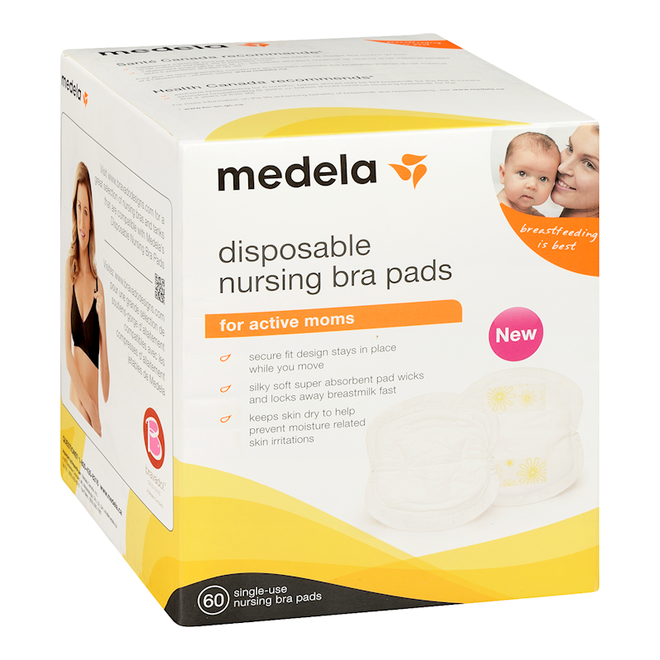 Disposable Bra Pads 60Pk
