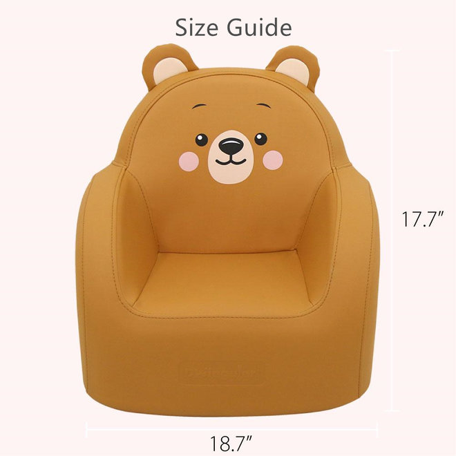 DWINGULER SOFFKIN LEATHER KIDS SOFA POLA BEAR