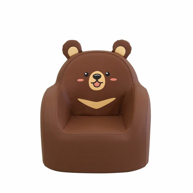 DWINGULER SOFFKIN LEATHER KIDS SOFA MOON BEAR