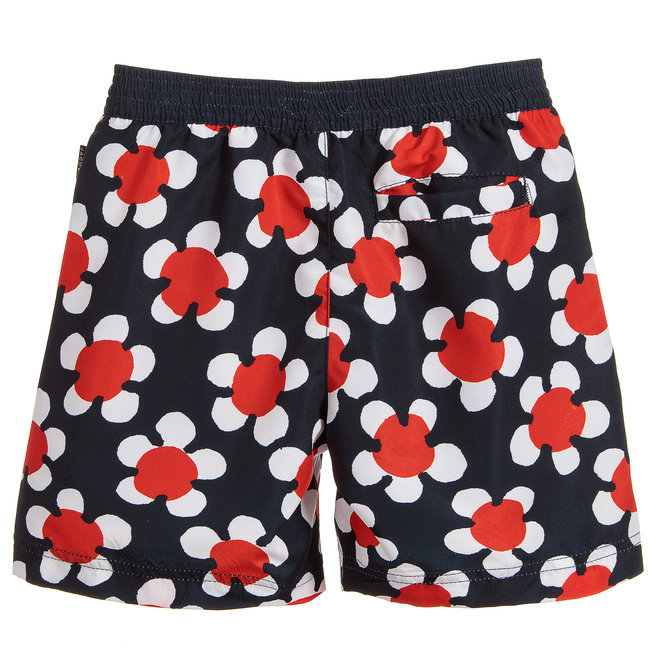 Little Marc Jacobs SWIMMING SHORT RED/BLUE/NAVY