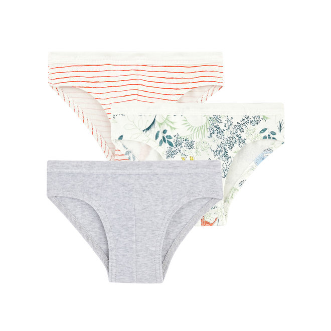 Boys' Briefs Underwear- 3-Piece Set