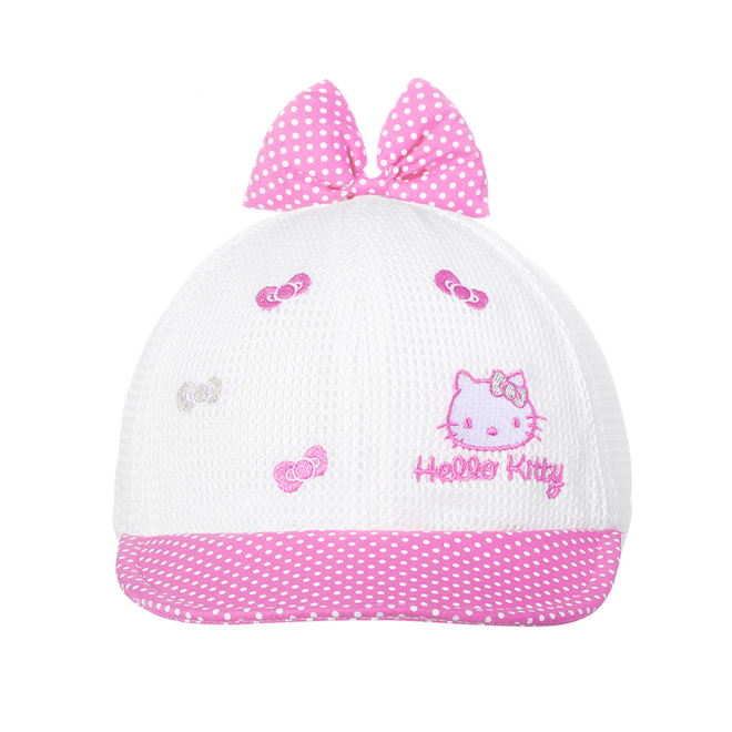 KT 3D Bow Embroideried Mesh Cap