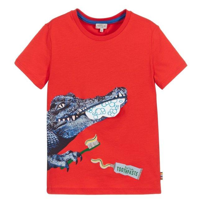 Adam Tee Shirt Scarlet Red