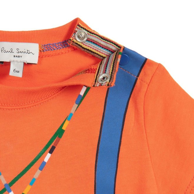 Albertin Tee Shirt Orangeade