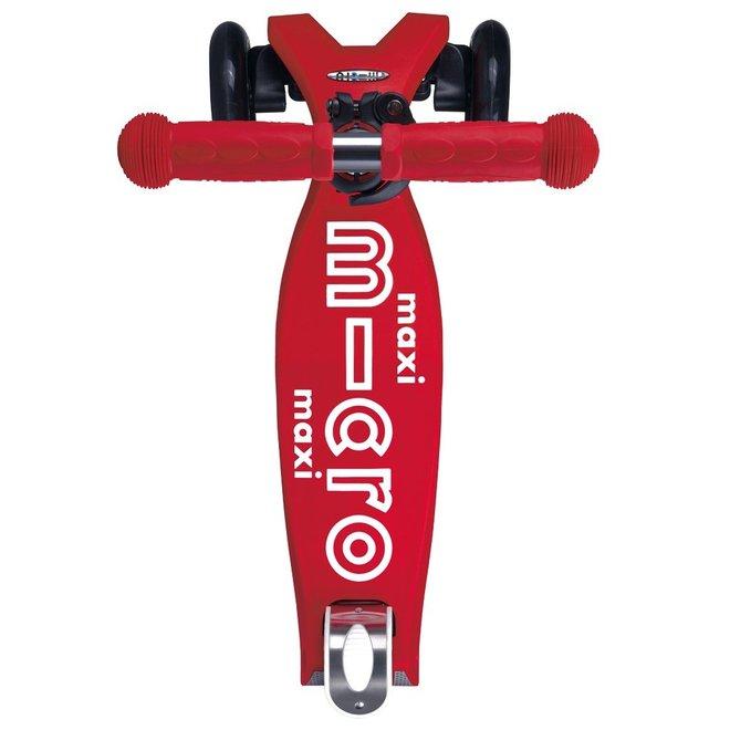 MMD081 Maxi MICRO Folding Deluxe Kickboard Red