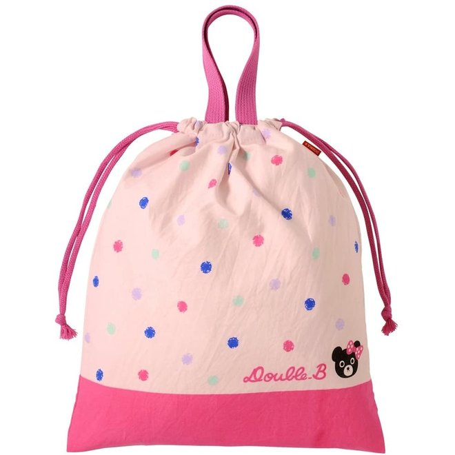 mikihouse lunchbag pink