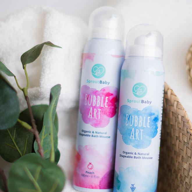Bubble Art – All Natural Shapeable Bath Mousse – Grape