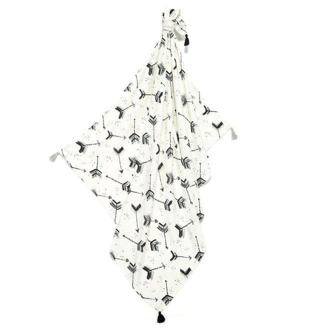 BAMBOO SWADDLE FRINGE - BOHO ROYAL ARROWS