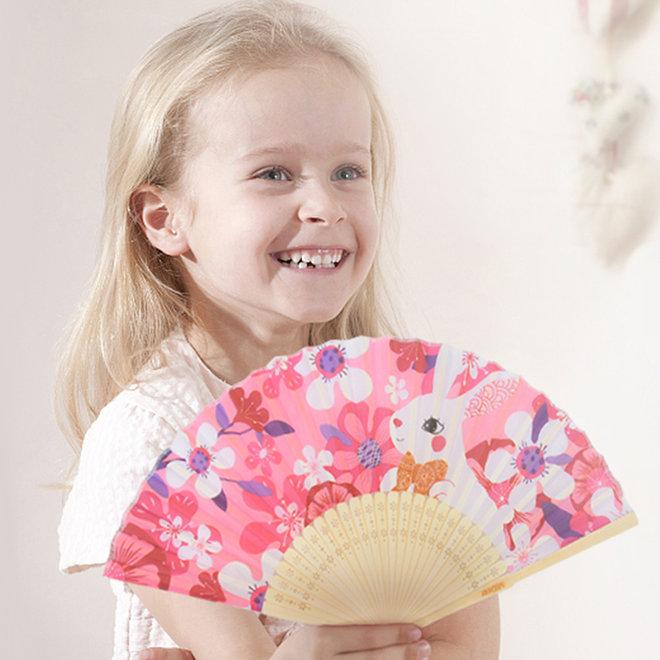 Bunny flower fan