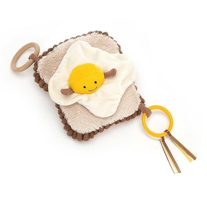 Amuseable Egg On Toast Activity Toy