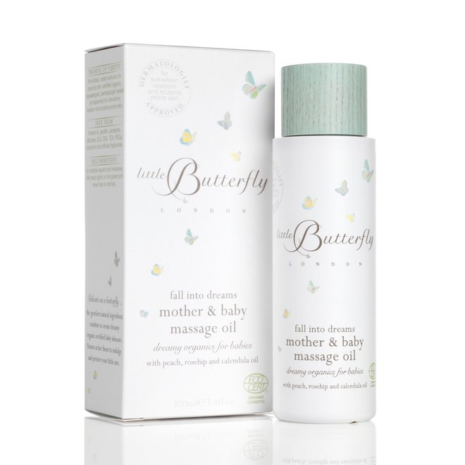 Fall Into Dreams Mother & Baby Massage Oil 100ml