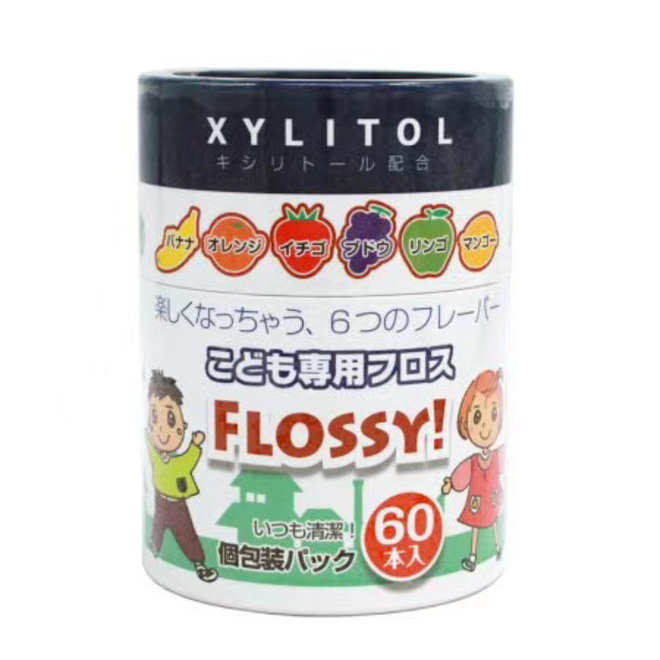 Flossy Fruits Dental Floss 60pcs