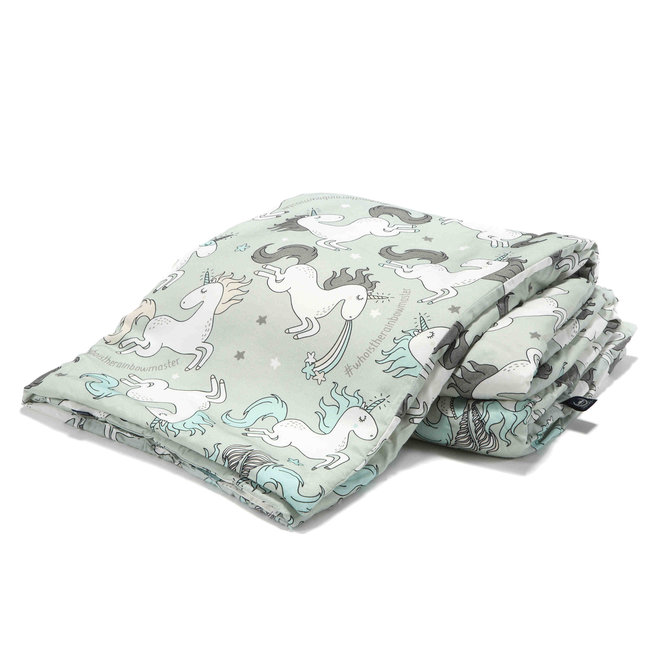BAMBOO BEDDING ADULT - UNICORN RAINBOW KNIGHT