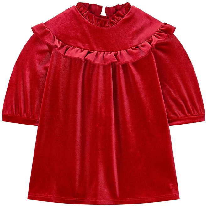 Chloe Dress Red Velvet