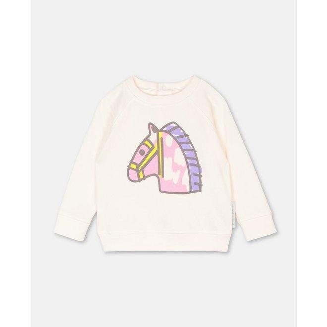 Baby Girl Baby Horse Sweatshirt
