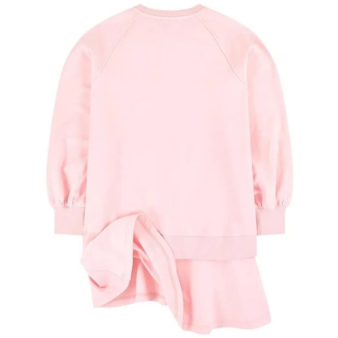 Ls Dress With Toy Controller Graphic-pink