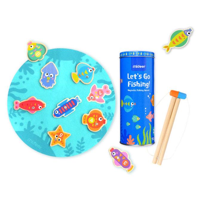 Mideer Magnetic Fishing Games