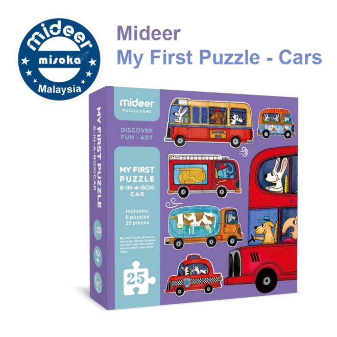 Mideer My First Puzzle-Traffic Puzzle