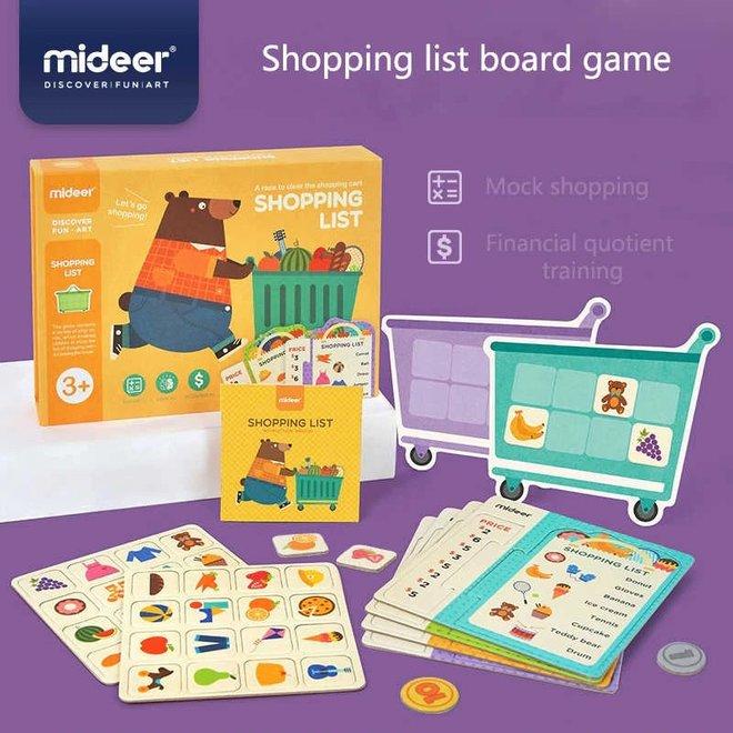 Mideer Shopping List