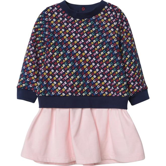 LMJ Soho D2 Dress Monogram Logo/Pink