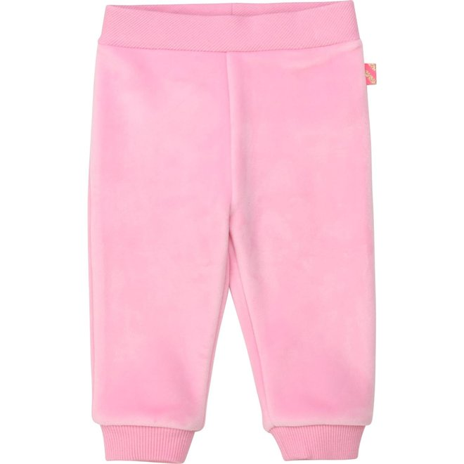 Billieblush Velour Tracksuit Pants Pink